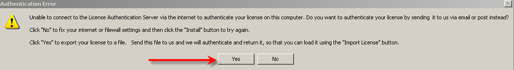 Unable to Connect To EnergySoft Server